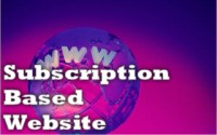 Subscription-based Websites by Cris!