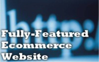 Fully Featured Ecommerce Websites by Cris!